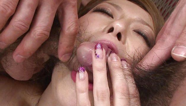 sexy asiatische Küken mit Sex